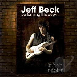 Beck, Jeff - Performing This Week...: Live at Ronnie Scott's CD Cover Art