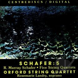 Schafer, Muray - Murray Schafer: 5 CD Cover Art
