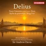Delius / Royal Scottish National Orch. / Shelley - Frederick Delius: Piano Concerto; Brigg Fair; etc. CD Cover Art