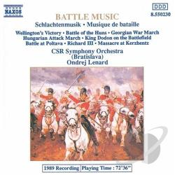 Lenard, Ondrej - Battle Music CD Cover Art