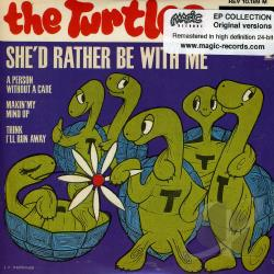 Turtles - She'D Rather Be With Me CD Cover Art