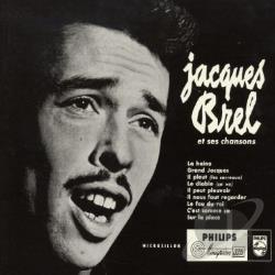Brel, Jacques - Jacques Brel Sings CD Cover Art