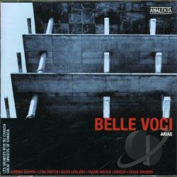 Gauvin, Karina - Belle Voci: Arias CD Cover Art