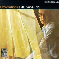Evans, Bill / Evans, Bill (Trio) - Explorations CD Cover Art