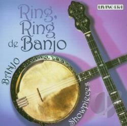 Ring, Ring de Banjo: Banjo Showpieces CD Cover Art