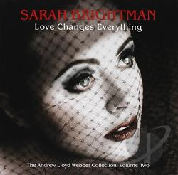 Brightman, Sarah - Love Changes Everything CD Cover Art