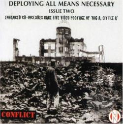 Conflict - Employing All Means Necessary! CD Cover Art
