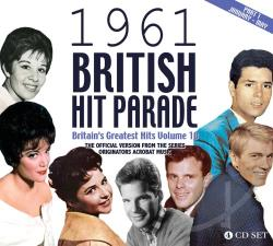 1961 British Hit Parade, Pt. 1: Jan-April CD Cover Art