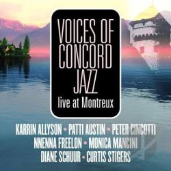 Voices Of Concord Jazz: Live At Montreux CD Cover Art