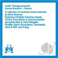 Seaman, Dave - Audio Therapy Presents Across Borders: Greece CD Cover Art