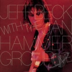 Beck, Jeff - Jeff Beck with the Jan Hammer Group Live CD Cover Art
