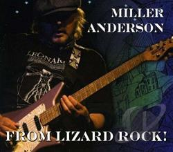 Anderson, Miller - From Lizard Rock! CD Cover Art