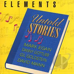 Elements - Untold Stories CD Cover Art