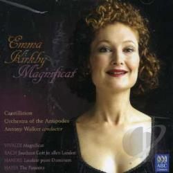 Kirkby, Emma - Magnificat CD Cover Art