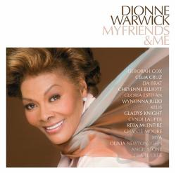 Warwick, Dionne - My Friends & Me CD Cover Art