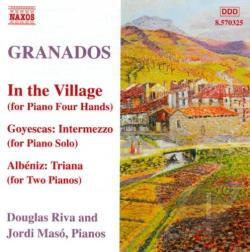 Granados / Maso / Riva - Granados: In the Village CD Cover Art