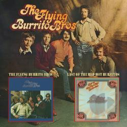 Flying Burrito Brothers - Flying Burrito Bros./Last of the Red Hot Burritos CD Cover Art