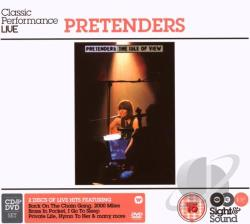 Pretenders - Sight & Sound: The Isle Of View CD Cover Art
