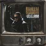 Devaughn, Raheem - Love & War MasterPeace CD Cover Art