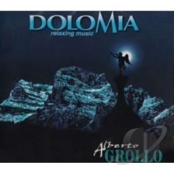 Grollo, Alberto - Dolomia (Relaxing Music) CD Cover Art