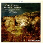 Carl Loewe: Lieder & Balladen, Vol. 12 CD Cover Art