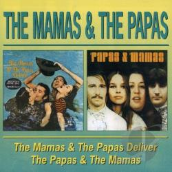 Mama's & The Papa's - Deliver CD Cover Art