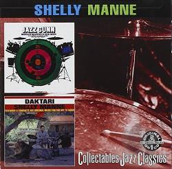 Manne, Shelly - Jazz Gunn/Daktari CD Cover Art
