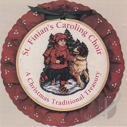 St. Finian's Caroling Choir - Christmas Traditional Treasury CD Cover Art