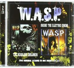 W.A.S.P. - Inside the Electric Circus/The Headless Children CD Cover Art
