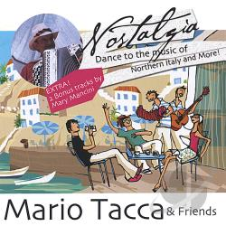 Tacca, Mario & Friends - Nostalgia CD Cover Art