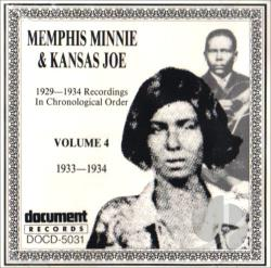 Memphis Minnie - Complete Recorded Works, Vol. 4 (1933 - 1934) CD Cover Art