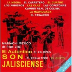 Mariachi Mexico De Pepe Villa - El Autentico Jaliscence CD Cover Art