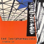 Ted Leo & The Pharmacists - Treble in Trouble CD Cover Art
