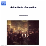 Ayala / Guastavino / Pujol / Saul / Villadangos - Guitar Music of Argentina CD Cover Art