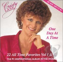 Lane, Cristy - One Day at a Time: 22 All Time Favorites CD Cover Art