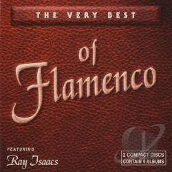 Isaacs, Ray - Very Best Of Flamenco CD Cover Art