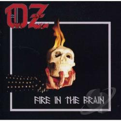 O.Z. - Fire in the Brain CD Cover Art