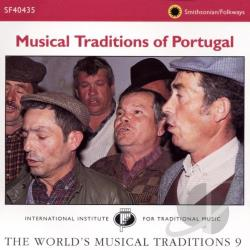 Musical Traditions of Portugal CD Cover Art