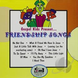 Gospel Kids - Friendship Songs CD Cover Art