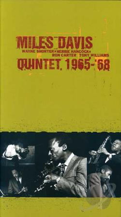 Davis, Miles Quintet - 1965-'68: The Complete Columbia Studio Recordings CD Cover Art