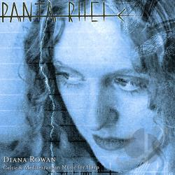 Rowan, Diana - Panta Rhei: Celtic & Mediterranean Music for Harp CD Cover Art