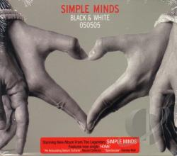 Simple Minds - Black & White CD Cover Art
