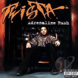 Twista - Adrenaline Rush CD Cover Art