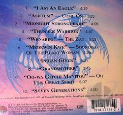 Music From The Legends Project: I Am An Eagle CD Cover Art