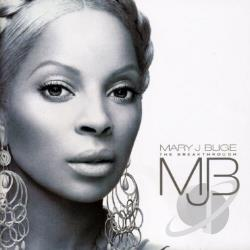 Blige, Mary J. - Breakthrough CD Cover Art