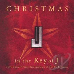 Johnson, Jared - Christmas In The Key Of J CD Cover Art