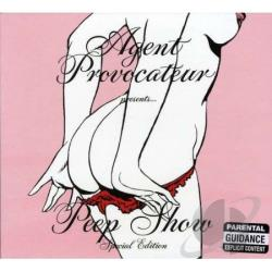Agent Provocateur - Peep Show CD Cover Art