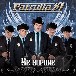 Patrulla 81 - Se Supone CD Cover Art