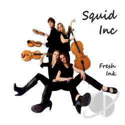 Squid Inc - Fresh Ink CD Cover Art