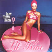 Lil' Kim - How Many Licks CD Cover Art